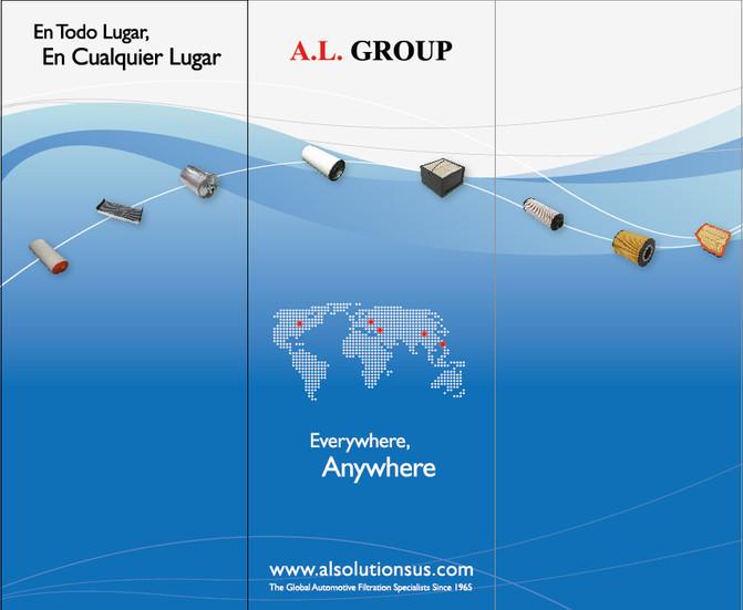 עיצוב לכנסים ותערוכות עבור חברת A.L.GROUP