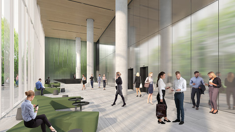Interior design office buildings – Gav-yam Raanana