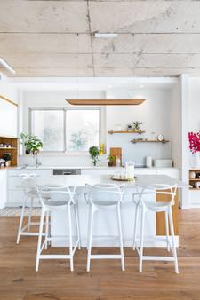 עיצוב מטבח לבן