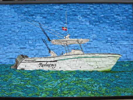 Reelaxing, Grady white Boat.