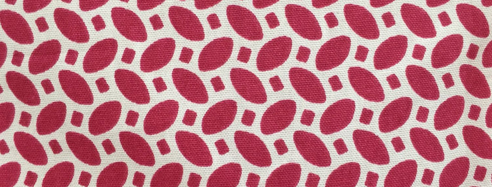 Pink - White - Modern Geometric