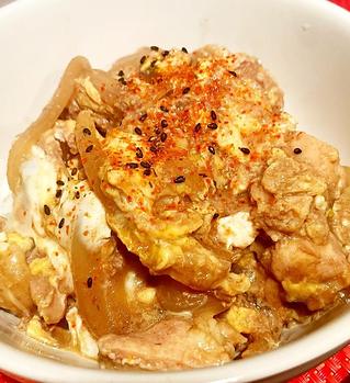 ルクマ親子丼、APIEのレシピ
