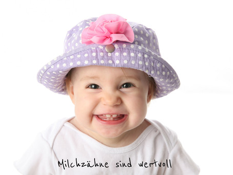 Milchzähne - Kostbare Wegbereiter für bleibende Zähne