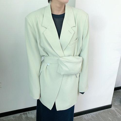 Jacket With Waist Bag