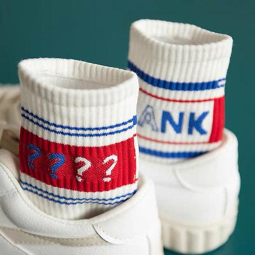 Blank White Socks