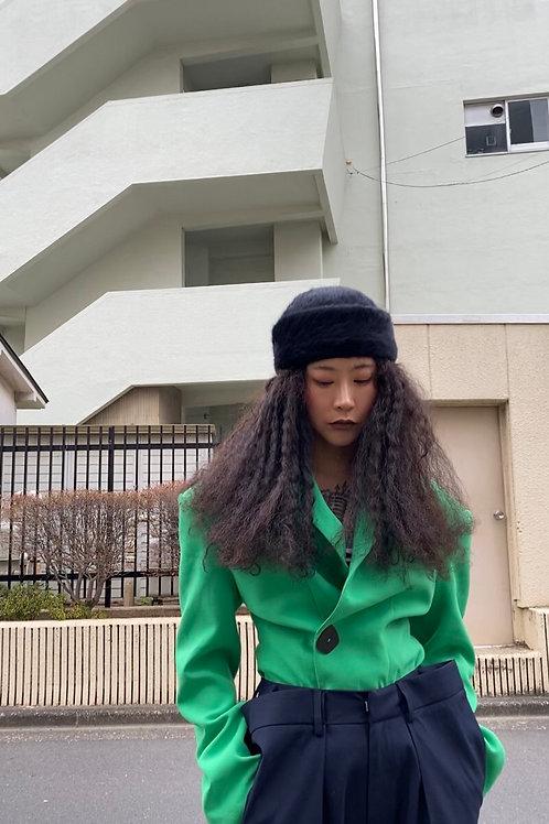 Fruit Green Big Shoulder Jacket
