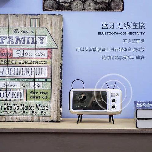Bluetooth Speak iPhone Small Retro TV Box