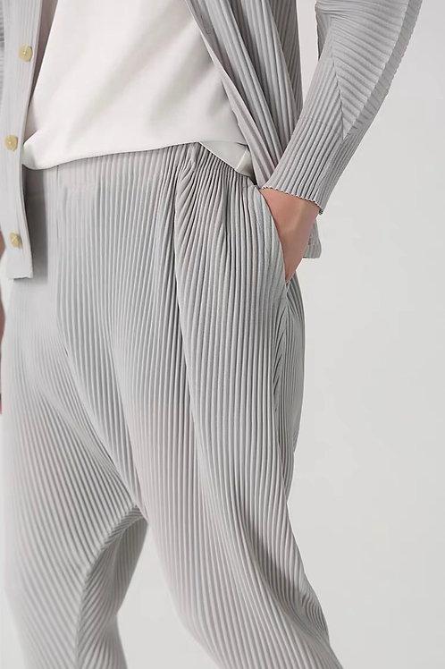 Plisse Trousers