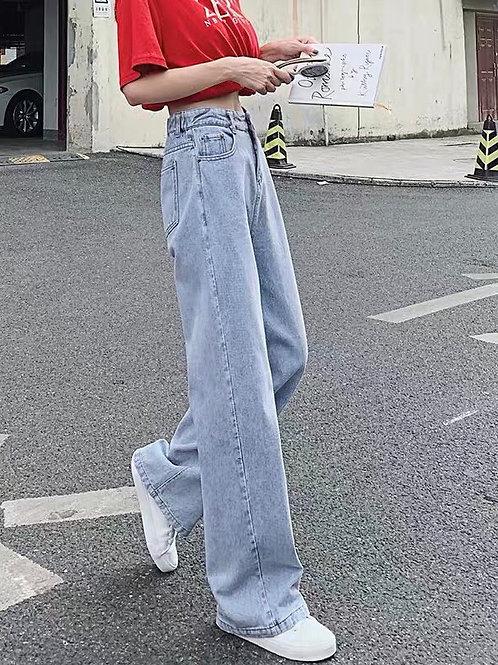 Light Blue Long Denim Jeans