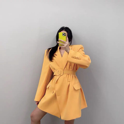 Yellow and Blue Jacket