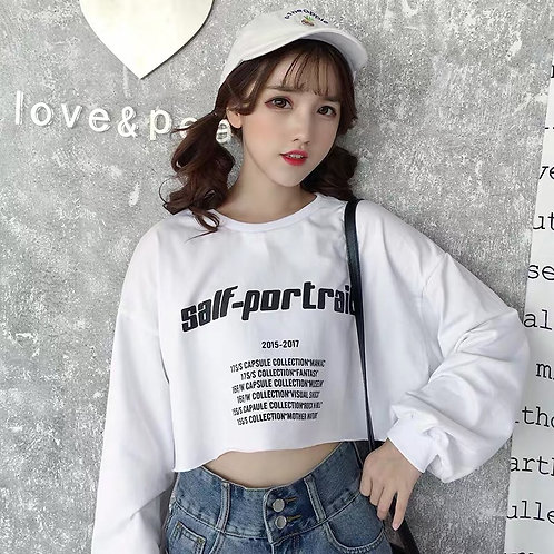 Short Student Style Sweater