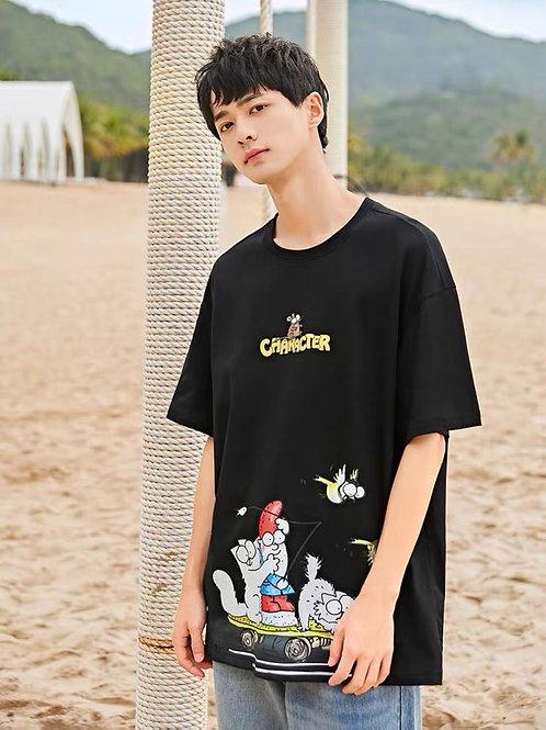 Character Black T-Shirt