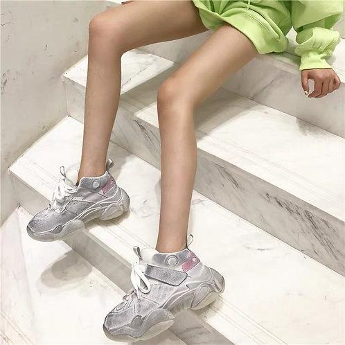 Dirty Platform Sneakers