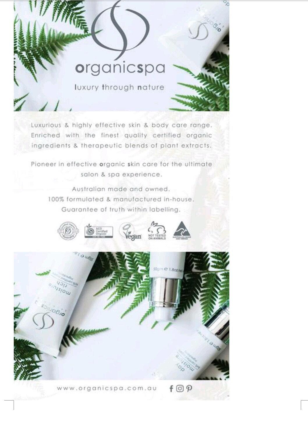 Organic express facial