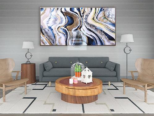 Emblem 100% Handmade Oil Painting Canvas Fully Framed