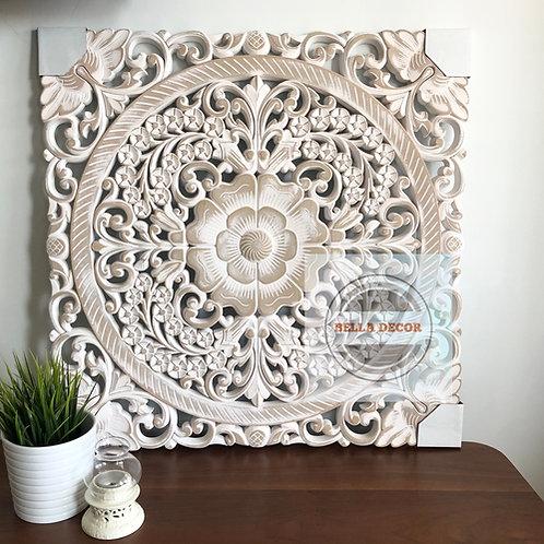 Carved Floral Panel