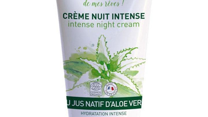 Crème nuit Aloe Vera bio