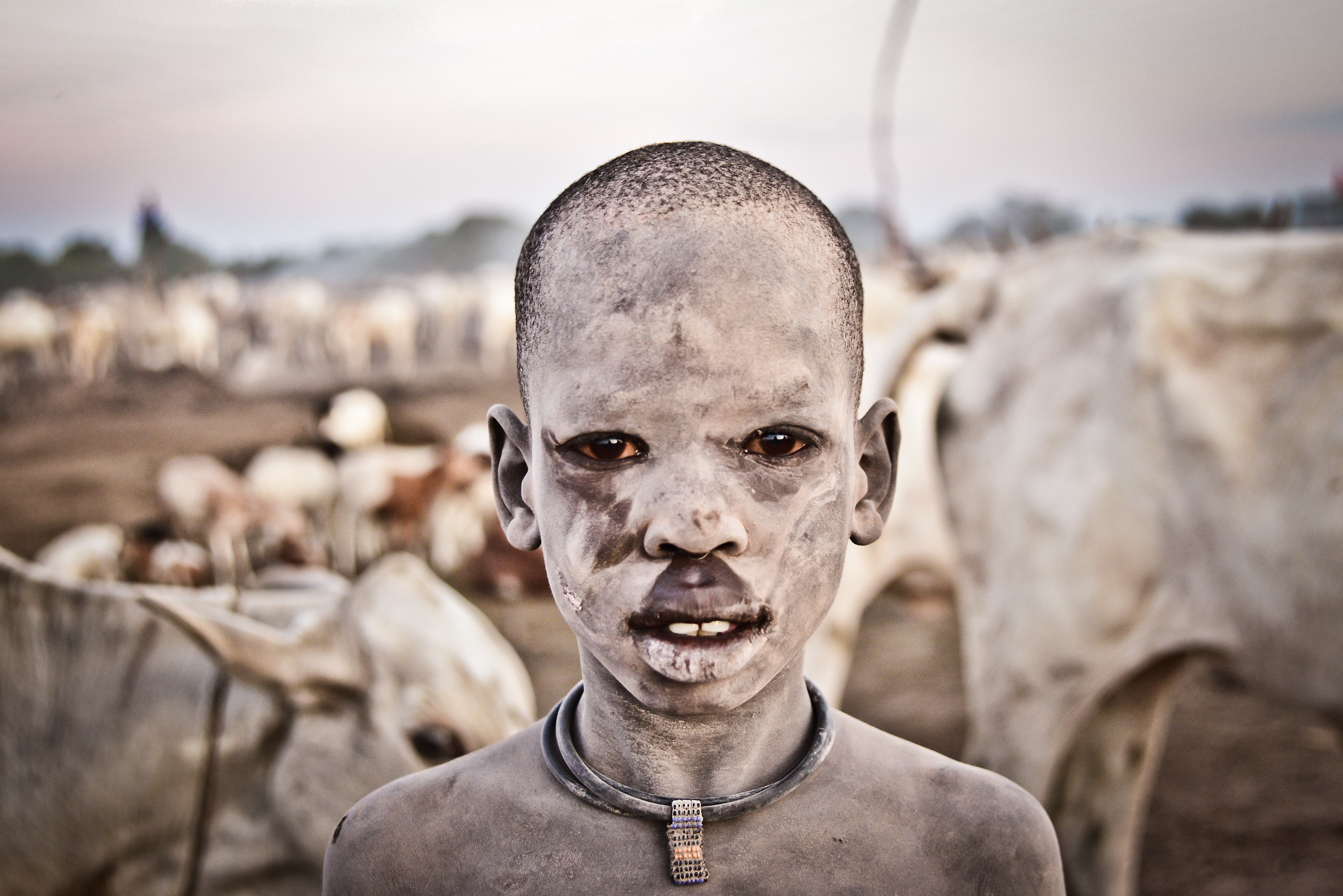 A Mundari boy In South Sudan