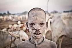 A Mundari boy In South Sudan