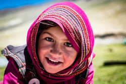 Wakhi girl from Afghanistan