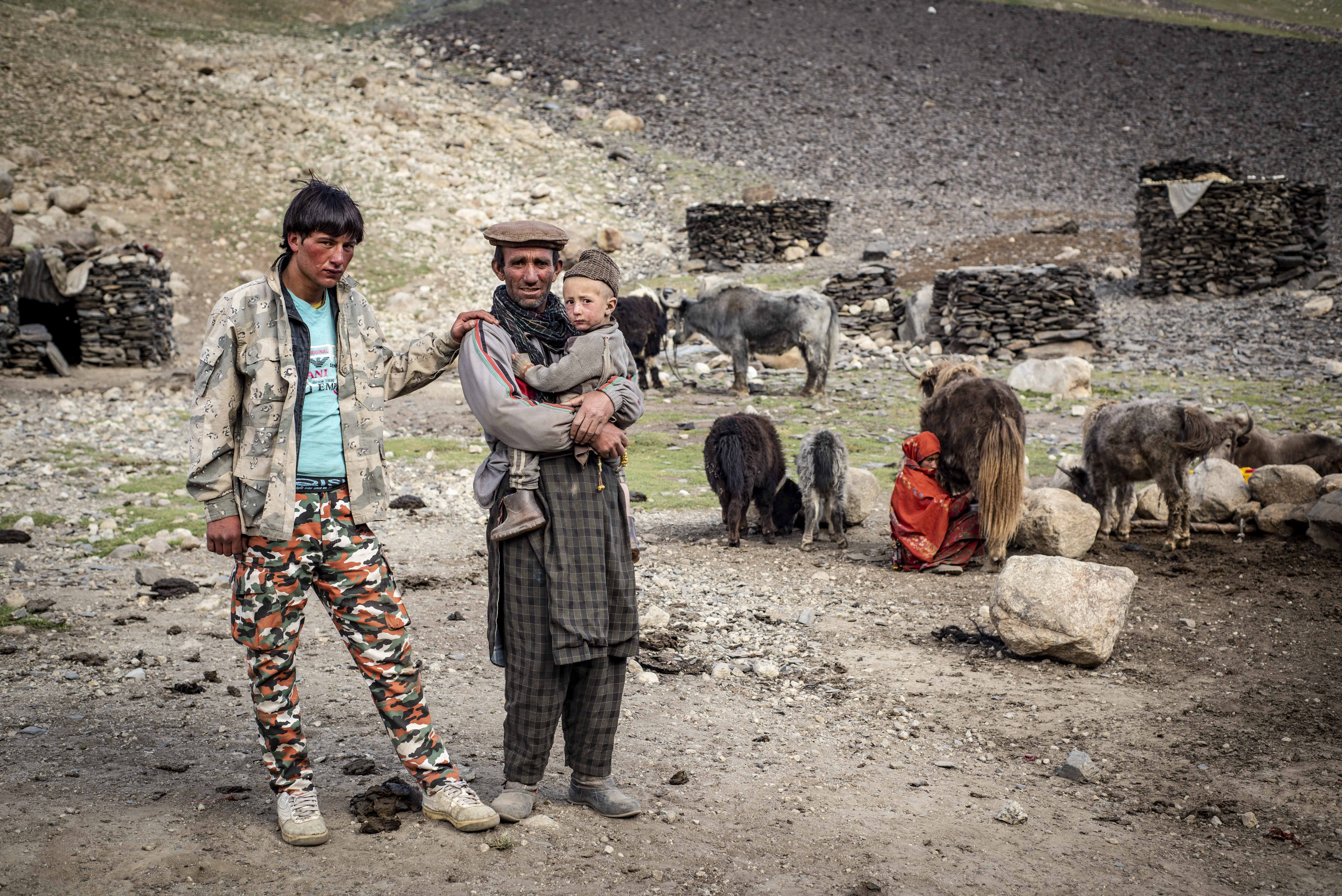 A Whaki family in Afghanistan