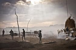 Mundari cattle camp, South Sudan