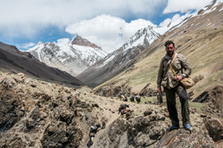 Lev Wood in Afghanistan