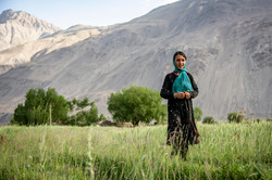 A Wakhi girl from Afghanistan