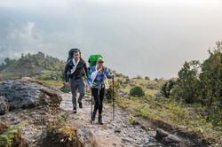 Caroline Pemberton in Nepal