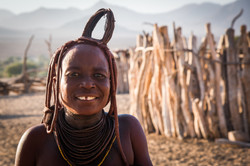Himba woman in Kaokaland, Namibia