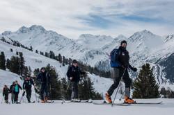 Phil Spencer ski tours in the Alps