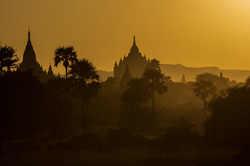 Bagan at Sunrise, Burma