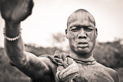 A Dinka Male from a cattle camp