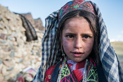 A Wakhi young girl in Afghanistan
