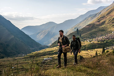Levison Wood in Nepal for Walking the Himalayas