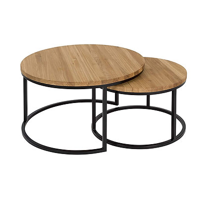 Natura Turto Coffee Table from Solid OAK