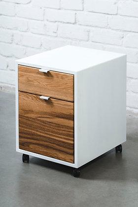 ''GOLDEN CRUST CABIO IN WHITE'' solid oak cabinet
