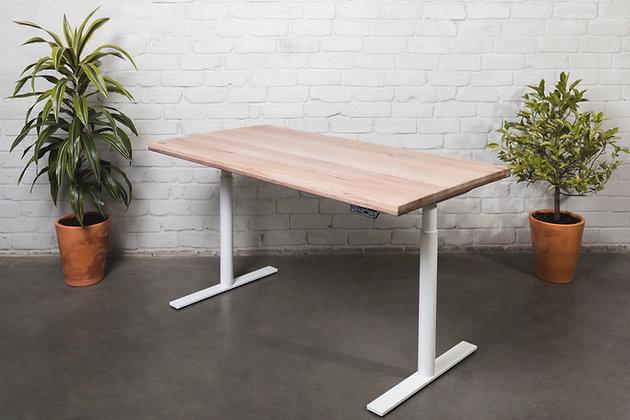 """White Mist"" Solid OAK Desk"