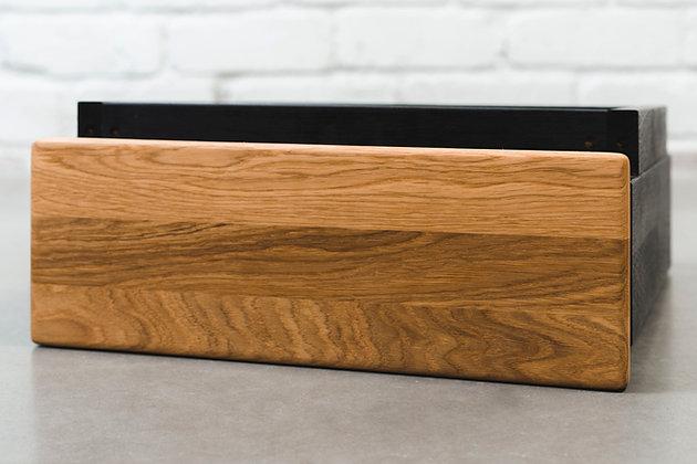 ''GOLDEN CRUST MINO ''solid oak drawer