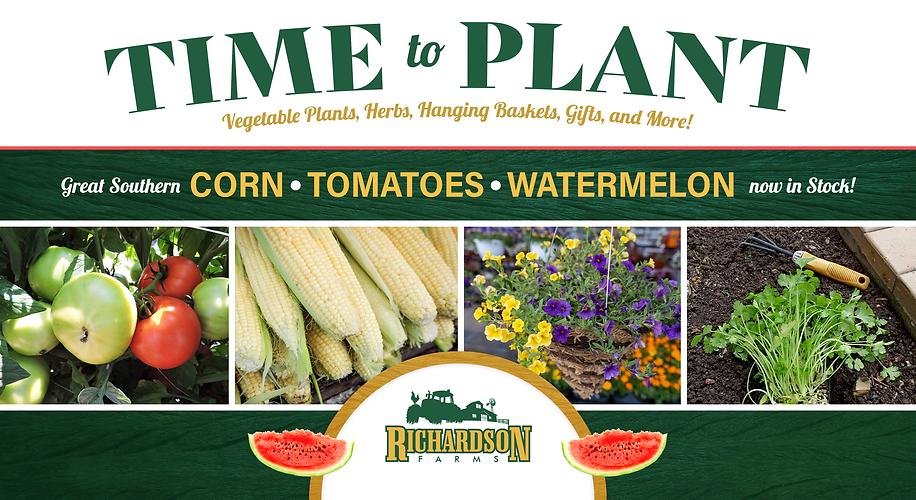 Richardson Farms Avenue Time 2 Plant Gra