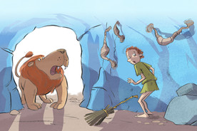 Androcles and the Lion. Click to see more early readers