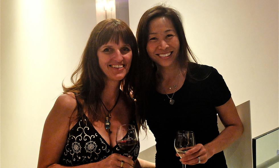 With Pen Parentis Salon co-host, Christina Chiu