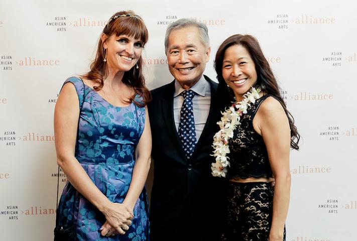 Me, George Takei, and Christina Chiu