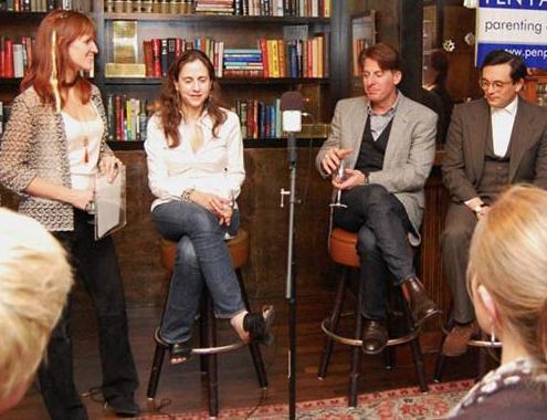 2011 with John Burnham Schwartz, Simon Van Booy, Helen Schulman