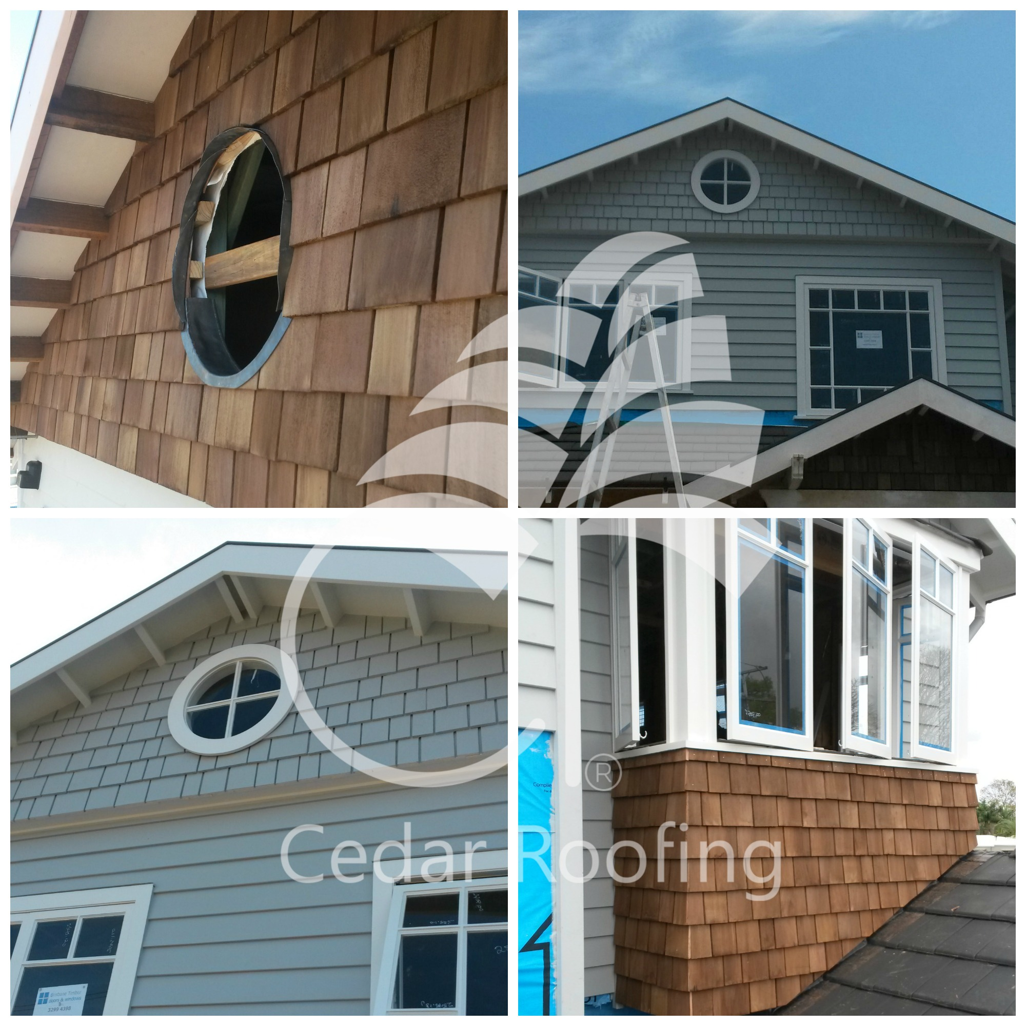 Cladding Round Window