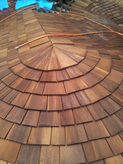 Art In Progress-Cedar Roofing
