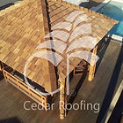 Western Red Cedar, Cedar Shakes, Cedar Shingles, Bali Hut,Pool Cabana, Outdoor Living, Pool Landscape, Spa area