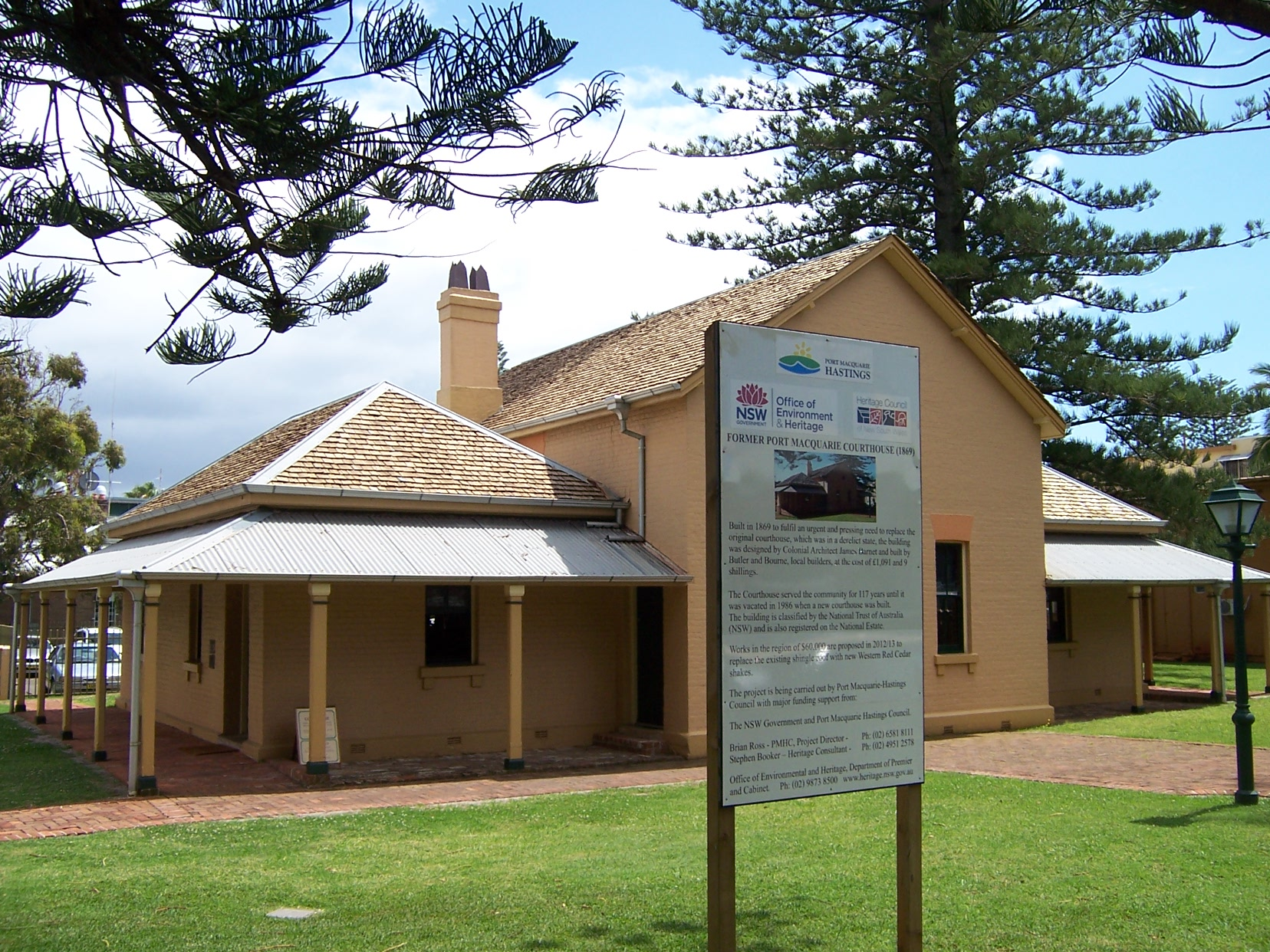 Historic Courthouse Port Macquarie