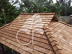 Western Red Cedar, Cedar Shakes, Cedar Shingles, Garden Gazebo, Pool Cabana, Bali Hut, Outdoor living, Outdoor Entertaining