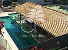 Western Red Cedar, Cedar Shakes, Cedar Shingles, Outdoor entertaining, outdoor living, Pool Cabana, Gazebo, Shade structures